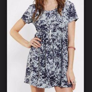 Acid Wash Print Dress